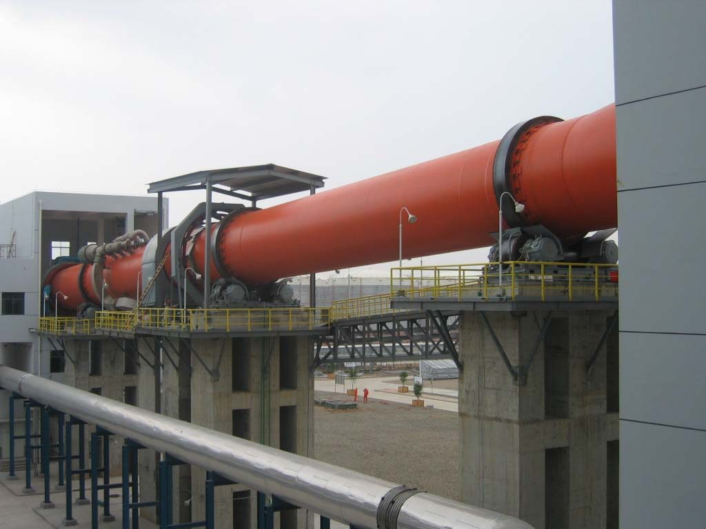 plant of rotary kiln for magnesium