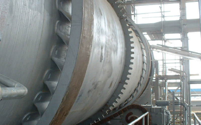 entity of rotary kiln for carbon