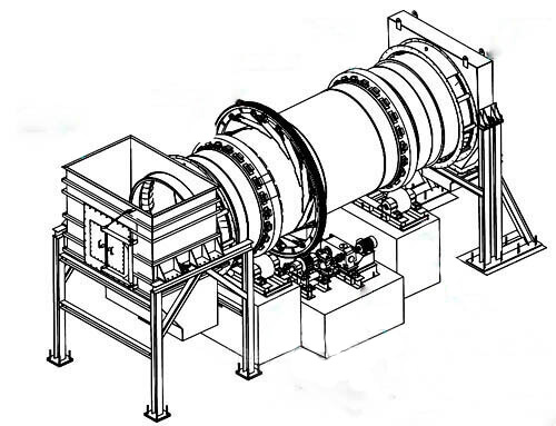 structure of clinker rotary kiln