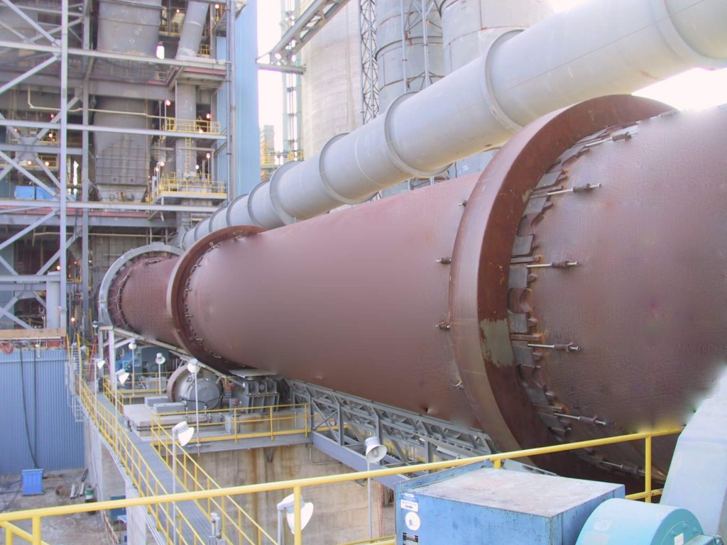 plant of rotary kiln for calcium aluminate