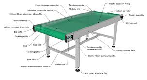 structure name of belt conveyor