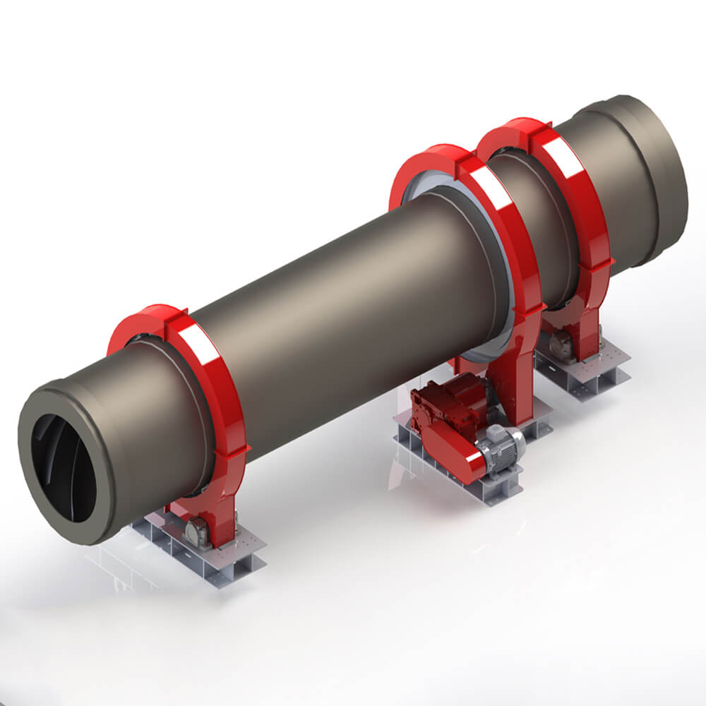 shell in activated carbon rotary kiln