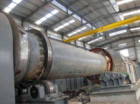 rotary kiln manufacturing factory