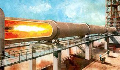 Heat transfer of cement kiln