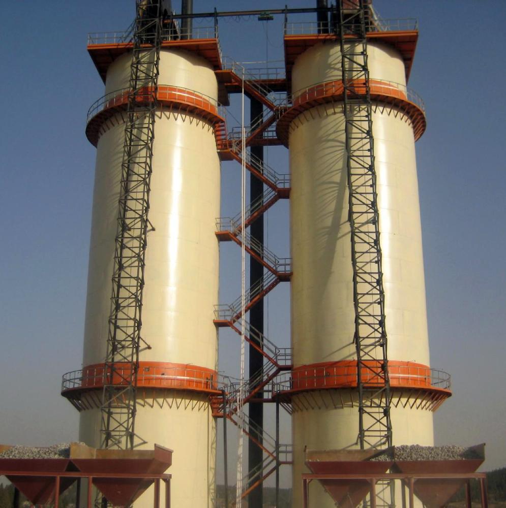 double-shell shaft kiln
