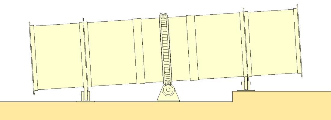 rotary kiln shell design