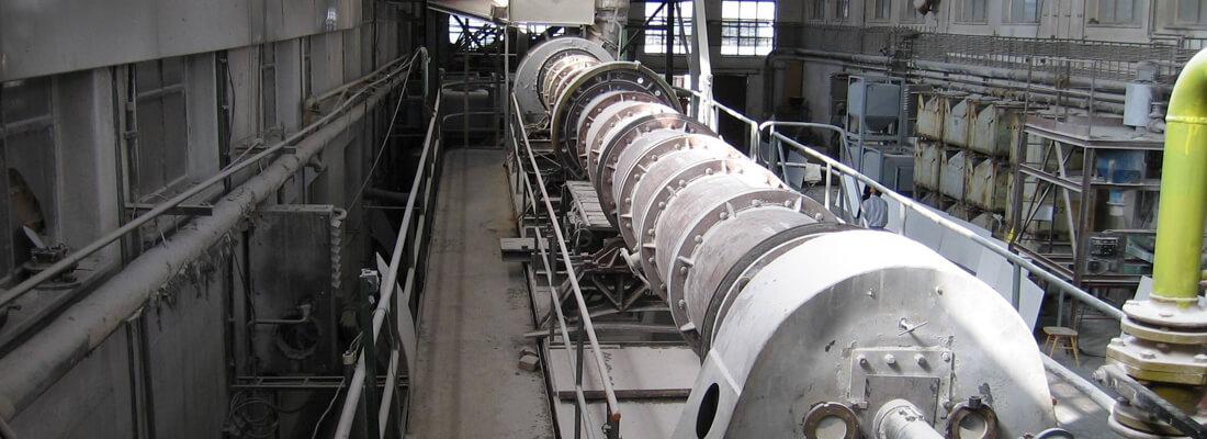 rotary calciner