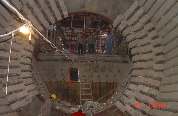 Inner of rotary kiln