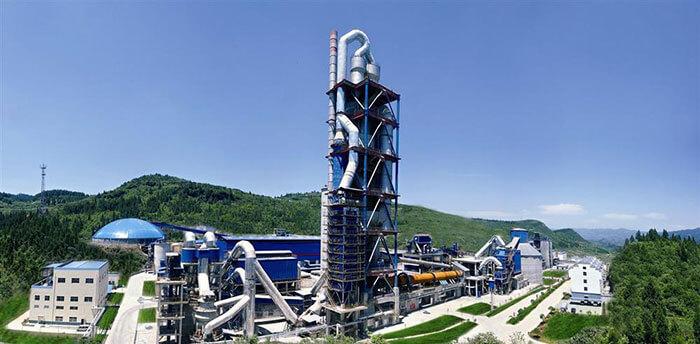 Industrial kilns in cement industry