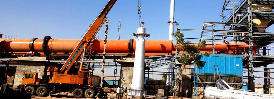 rotary kiln incinerator for sludge incineration